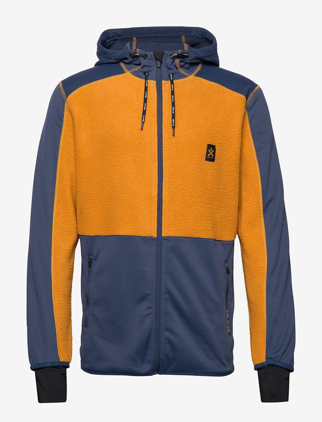 Bula - Fleece Zip Hood - mittlere lage aus fleece - okra - 1