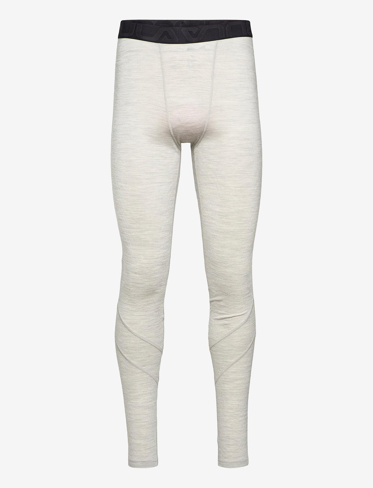 Bula - Retro wool Pants - funkionsunterwäsche - hosen - grey - 0