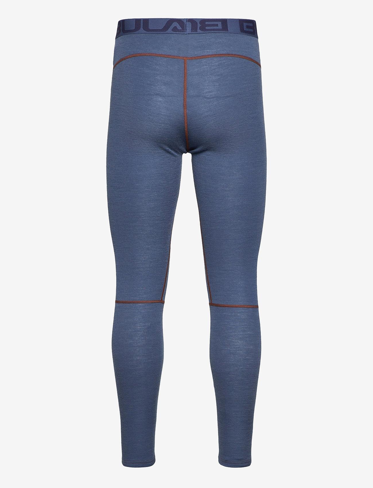 Bula - Geo Merino Wool Pants - funkionsunterwäsche - hosen - walnut - 1