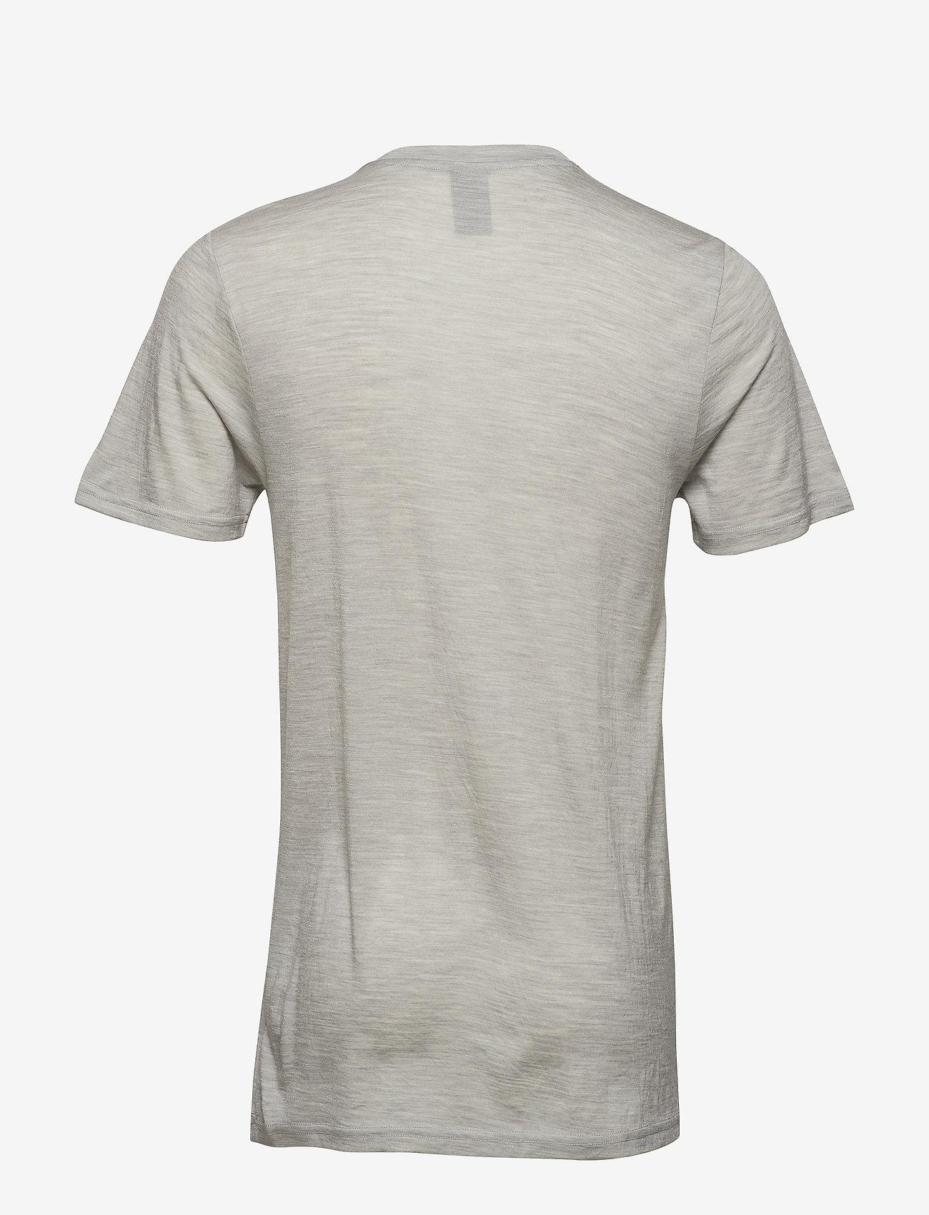 Bula - Bula Merino Wool Tee - tops - greym - 1