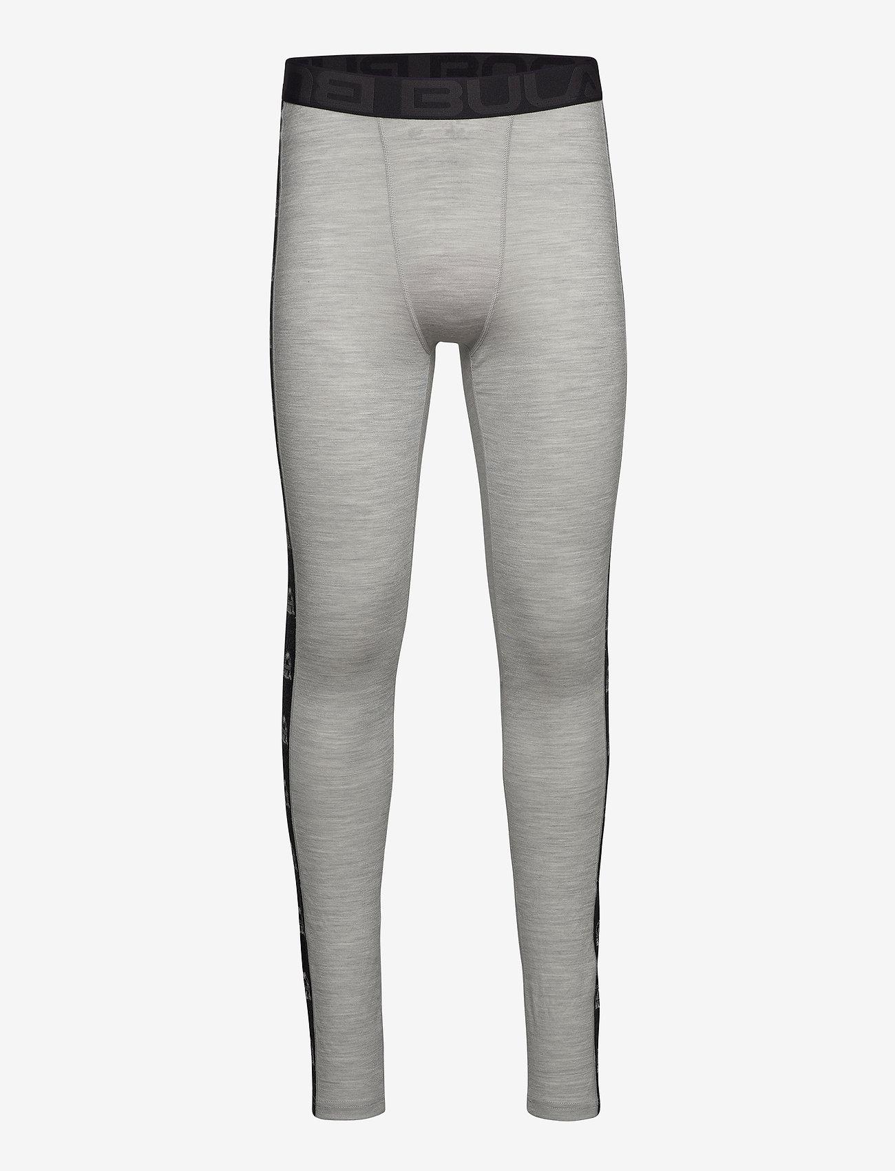 Bula - Tape Merino Wool Pants - funkionsunterwäsche - hosen - greym - 0