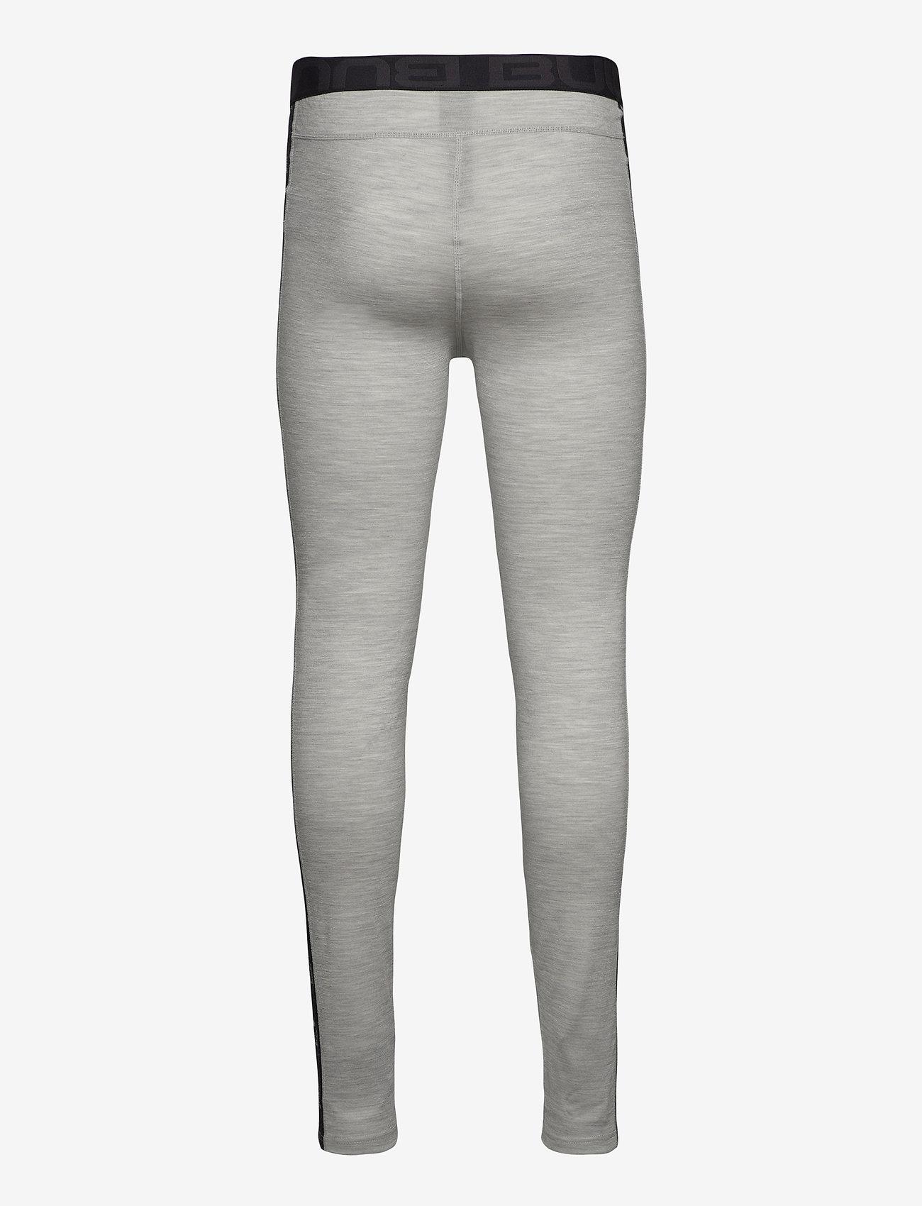 Bula - Tape Merino Wool Pants - funkionsunterwäsche - hosen - greym - 1