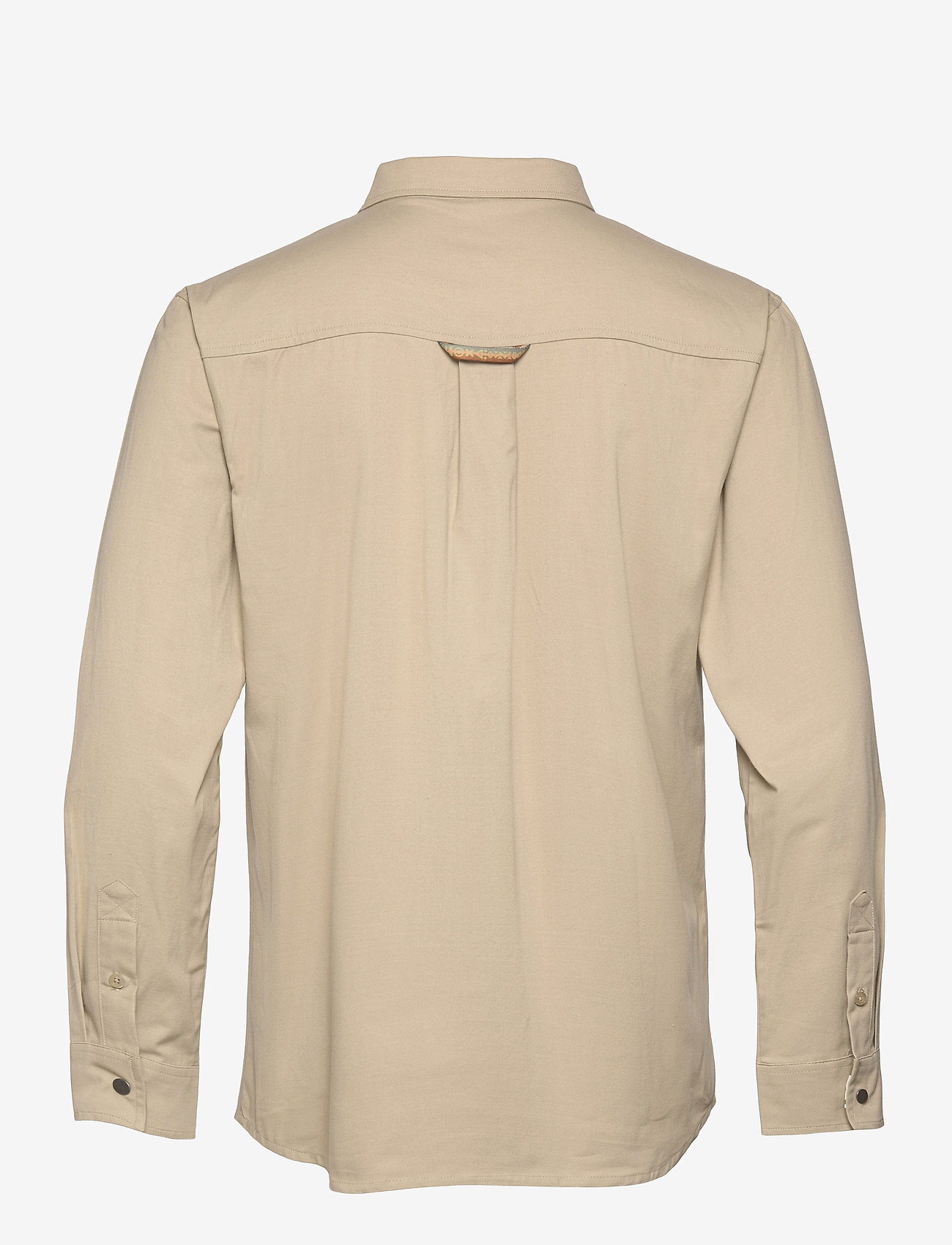 Bula - Camper LS Shirt - basic-hemden - chalk - 1
