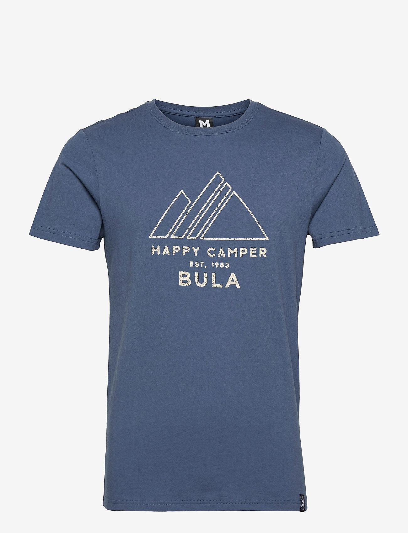Bula - Camper T-Shirt - sportoberteile - denim - 0