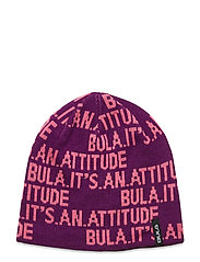 JR WORD BEANIE - PURPLE