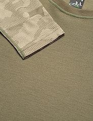 Bula - Camo Merino Wool Crew - funktionsunterwäsche - oberteile - sage - 2