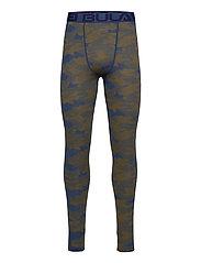 Camo Merino Wool Pants - DENIM