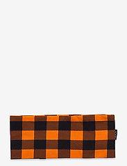 Bula - COTTON CHECK HEADBAND - hårbånd - orange - 1