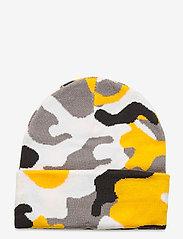 Bula - JR CAMO BEANIE - bonnet - yellow - 1