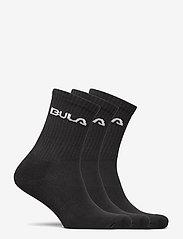 Bula - CLASSICSOCK3PK - reguläre strümpfe - black - 1