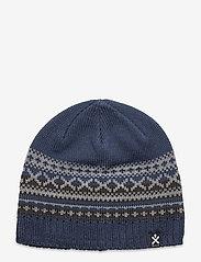 Bula - Trad Wool Beanie - mützen - denim - 0