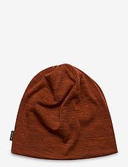 Bula - Pacific Merino Wool Beanie - bonnet - brick - 1