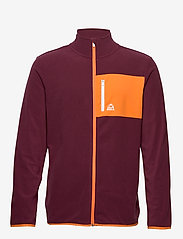 Bula - Fleece Jacket - fleece midlayer - burgnd - 1