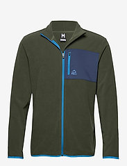 Bula - Fleece Jacket - fleece midlayer - dolive - 0