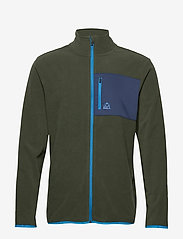 Bula - Fleece Jacket - fleece midlayer - dolive - 1