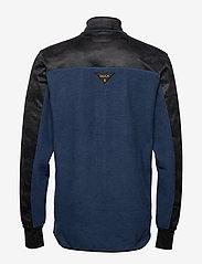 Bula - Camo Fleece Jacket - fleece midlayer - denim - 2