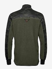 Bula - Camo Fleece Jacket - fleece midlayer - dolive - 2