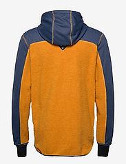 Bula - Fleece Zip Hood - mittlere lage aus fleece - okra - 2
