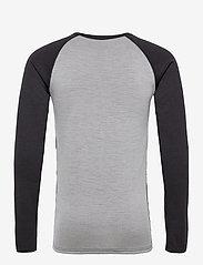 Bula - Camo Merino Wool Front Crew - thermo ondershirts - dgrey - 1