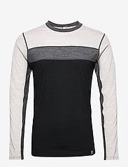 Bula - Retro wool Crew - thermo ondershirts - black - 0