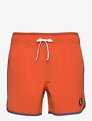 Bula - Burn Shorts - badehosen - brick - 0
