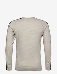 Bula - Tape Merino Wool Crew - funktionsunterwäsche - oberteile - greym - 1