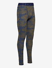 Bula - Camo Merino Wool Pants - funkionsunterwäsche - hosen - denim - 3
