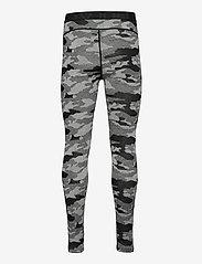 Bula - Camo Merino Wool Pants - funkionsunterwäsche - hosen - dgrey - 1