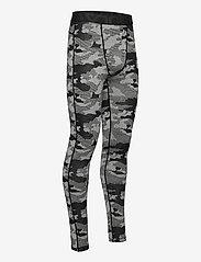 Bula - Camo Merino Wool Pants - funkionsunterwäsche - hosen - dgrey - 3