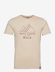 Bula - Camper T-Shirt - sportoberteile - chalk - 0