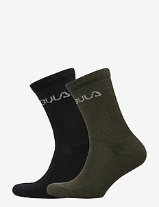 2PK WOOL SOCK - DOLIVE