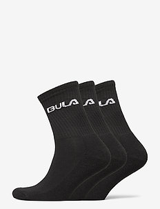 CLASSIC SOCK 3PK - regular socks - black