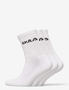 CLASSIC SOCK 3PK - regular socks - white
