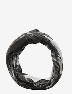 Printed Wool Tube - scarves - dgrey
