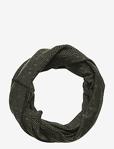 Printed Wool Tube - scarves - dolive
