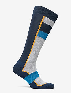 Retro Ski Sock - DENIM