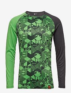 TIKITECH CREW - base layer tops - green