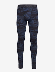 CAMO MERINO WOOL  PANT - DENIM
