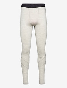 Retro wool Pants - base layer bottoms - grey