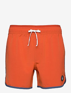 Burn Shorts - bademode - brick