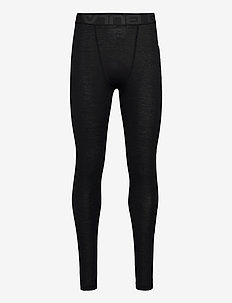 Camo Merino Wool Pants - bottoms - black