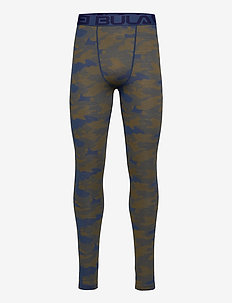 Camo Merino Wool Pants - thermo onderbroeken - denim