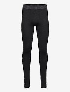 Tape Merino Wool Pants - bottoms - black