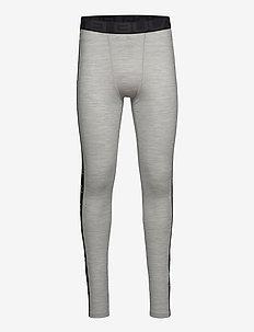 Tape Merino Wool Pants - funkionsunterwäsche - hosen - greym