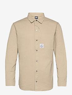 Camper LS Shirt - basic-hemden - chalk