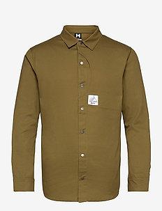 Camper LS Shirt - basic-hemden - moss