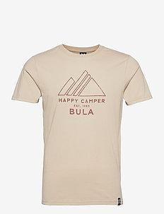 Camper T-Shirt - sportoberteile - chalk
