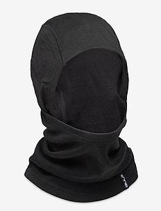 WOOL CONVERTIBLE BALACLAVA - accessoires - black