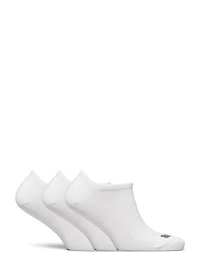 3PK NO SHOW SOCK - ankelstrømper - white