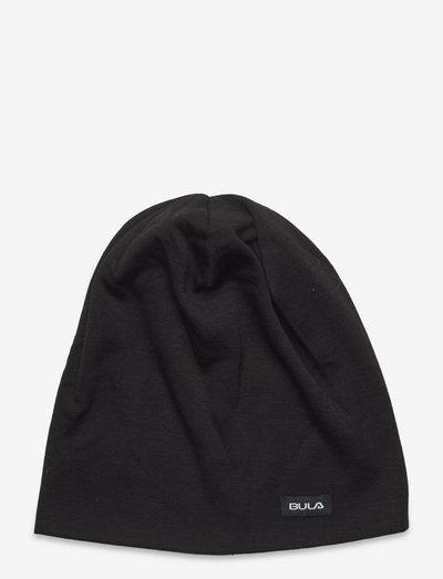 Camo Printed Wool Beanie WEB - huer - black